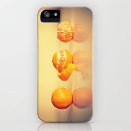 Fruit Orange Clementines iPhone Case