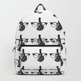 Le vieux aux lunettes Backpack