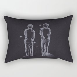 Louis Tomlinson and Harry Styles Rectangular Pillow