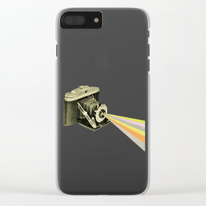 It's a Colourful World Clear iPhone Case