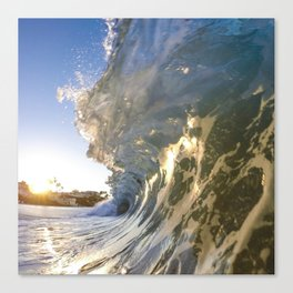 Laguna Blue Canvas Print