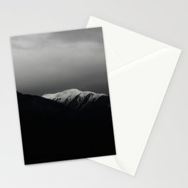Don't stop / mountain photo art print / mountain poster Stationery Cards