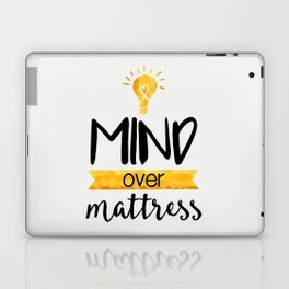 Mind over Mattress Laptop & iPad Skin
