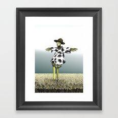 Crow Serie :: Scarecrow Henry Framed Art Print