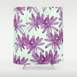 MATUCANA IN AFRICAN VIOLET Shower Curtain