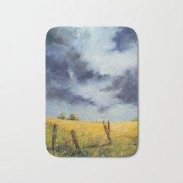 A Stormy Sky Bath Mat