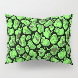 Fifty shades of slime. Pillow Sham