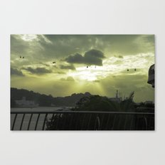 Heavenly Ride Canvas Print