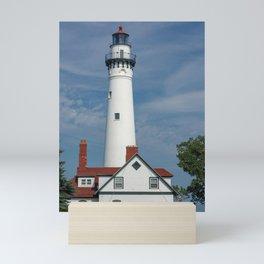 Wind Point Lighthouse Mini Art Print