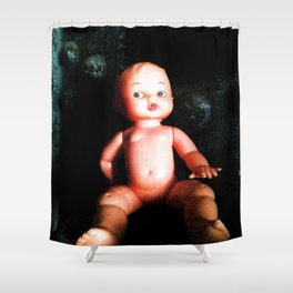 Industrial Childhood Shower Curtain