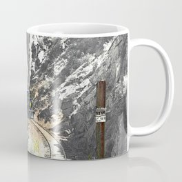 Rounding Inspiration Point--Clear Creek Canyon Coffee Mug