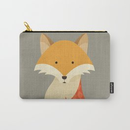 Hello Red Fox Carry-All Pouch