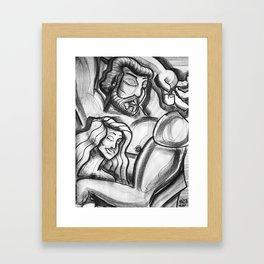Love Never Sleeps Framed Art Print