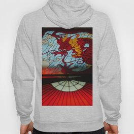 Dragon Stained Glass Hoody