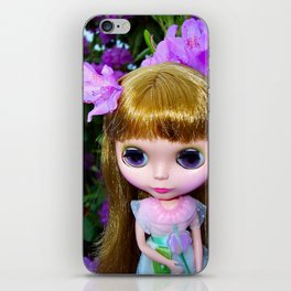 Floral Blythe iPhone Skin