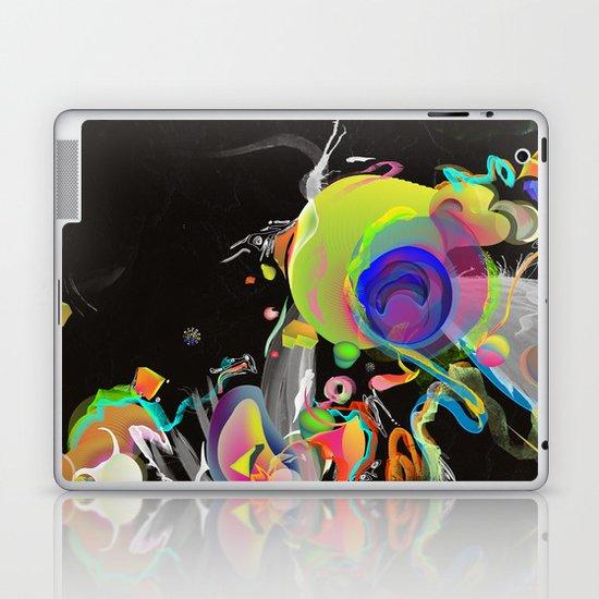 Colliding Nebulas Laptop & iPad Skin