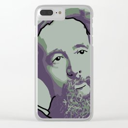 Charles Dickens Clear iPhone Case