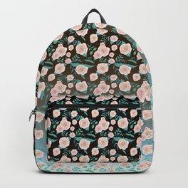 Dusty pink peonies pattern Backpack