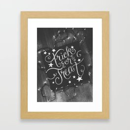 Trick or Treat 2 Framed Art Print