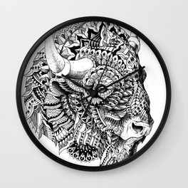 Bison v2 Wall Clock