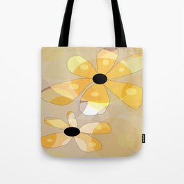FLOWERY DINA  / ORIGINAL DANISH DESIGN bykazandholly Tote Bag