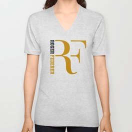 Roger Federer V Neck T Shirts To Match Your Personal Style Society6