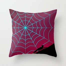 Spider Twilight Series - Spider-Gwen Throw Pillow