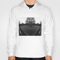 central park Hoodies featuring Central Park by Claudia Araujo