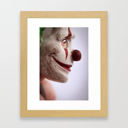 Clown Thug Framed Art Print