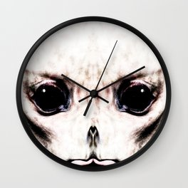 Visitor From Beyond Wall Clock