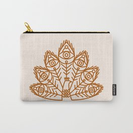Cosmic Peacock Carry-All Pouch