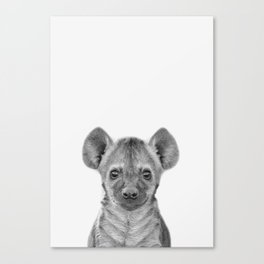Baby Hyena Canvas Print