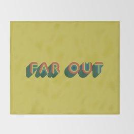Far Out Throw Blanket
