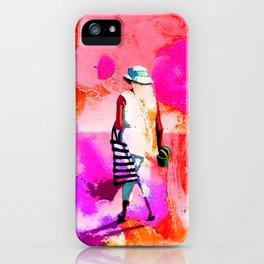 jardin rose iPhone Case