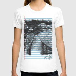Loose Leaf Doodles: Distractions T-shirt