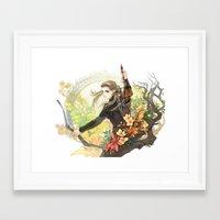 legolas Framed Art Prints featuring Legolas by kagalin
