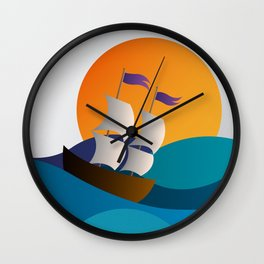 in the see... Wall Clock