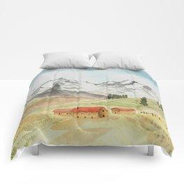 A Highland Village Comforters