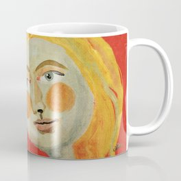 Yellow hair Coffee Mug
