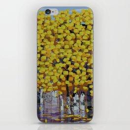 Hello Autumn 2 iPhone Skin
