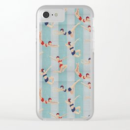 The Swimmers Clear iPhone Case