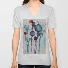 Abstract Composition 719 Unisex V-Neck
