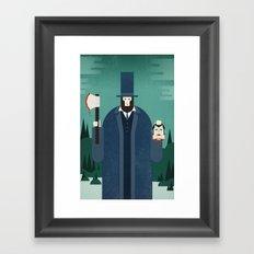 Vampire Hunter Framed Art Print