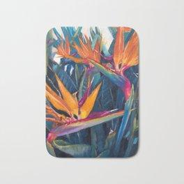 Bird of Paradise Bath Mat