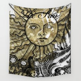 Glamour Tarot The Sun Wall Tapestry