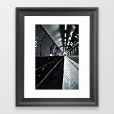 Kings Cross Tube 5am Framed Art Print