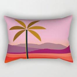 Phoenix Arizona Travel Poster Rectangular Pillow