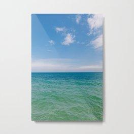 Lake Michigan III Metal Print
