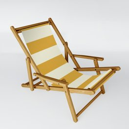 Yellow Stripes Bold Sling Chair