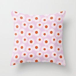 Daisy Starbusrt Throw Pillow